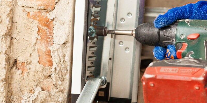 Replacing Aluminum Trim - Superior Garage Door Repair