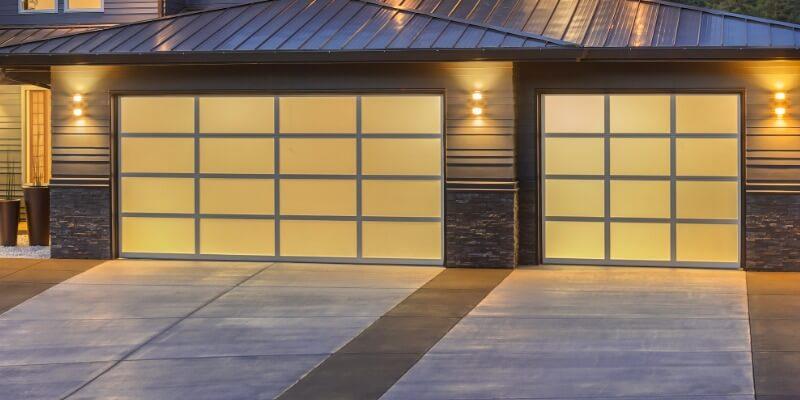glass garage door - Superior Garage Door Repair