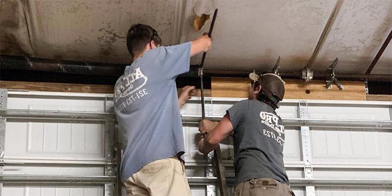torsion spring installation - Superior Garage Door Repair